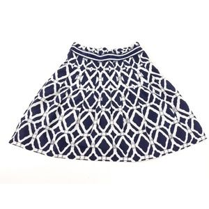 Lilly Pulitzer Silk Cotton Skirt Size 4